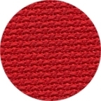 Linen Christmas Red 55 In W
