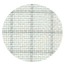 Lugana Brittany Easy Ct Grid White/Grey 55 In W