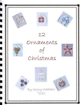 12 Ornaments of Christmas - Book 1 - Ginny Weathers