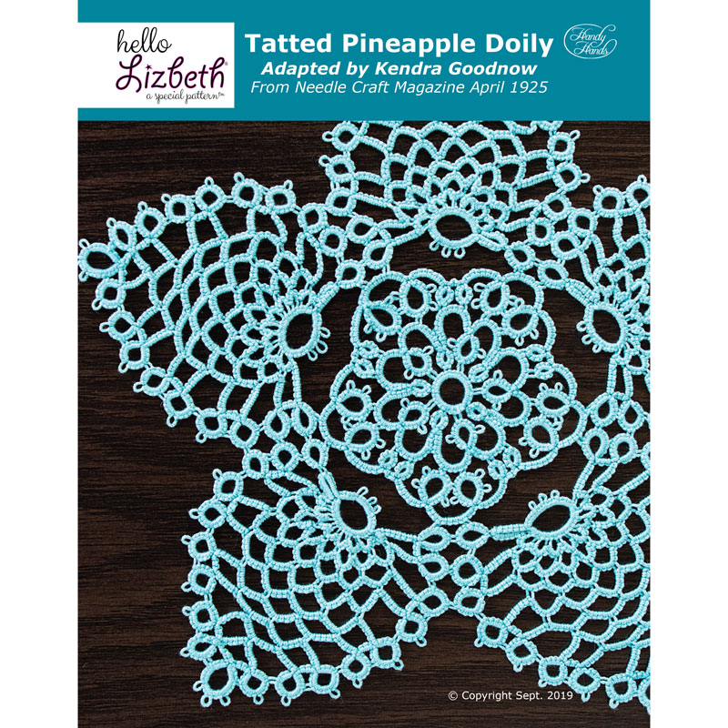 Tatted Pineapple Doily Pattern