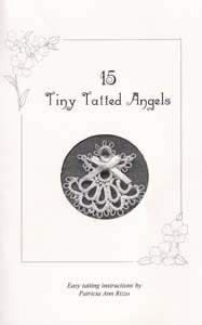 15 Tiny Tatted Angels (T291)