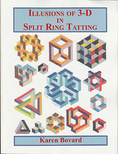Illusions of 3-D in Split Ring Tatting (Bovard)