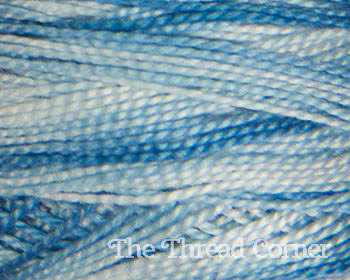 DMC Perle Cotton Variegated - Aqua Blue (67)