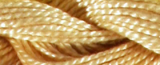 Perle Cotton Skein Size 5 - Ultra very Lt Tan #739