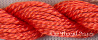 Perle Cotton Skein Size 3 - MD Coral (350)