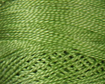 DMC Perle Cotton Size 8 - Avocado-Vy Lt (471)