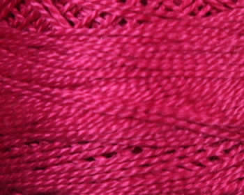 DMC Perle Cotton Size 8 - Hot Pink (600)