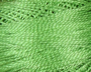 DMC Perle Cotton Size 8 - Apple Green (704)