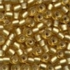 MH Size 6 Glass Beads - 16031 - Frosted Gold