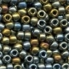 MH Size 6 Glass Beads - 16037 - Abalone