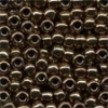 MH Size 6 Glass Beads - 16221 - Bronze