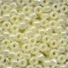 MH Size 6 Glass Beads - 16603 - Creamy Pearl