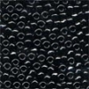 MH Size 8 Glass Beads - 18014 - Black