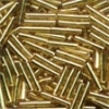 Mill Hill Bugle Beads, Med - Victorian Gold - 11/0 x 9mm