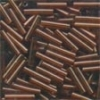 Mill Hill Bugle Beads, Med - Root Beer - 11/0 x 9mm