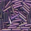 Mill Hill Bugle Beads, Med - Royal Mauve - 11/0 x 9mm