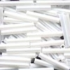Mill Hill Bugle Beads, Lg - White - 11/0 x 15mm