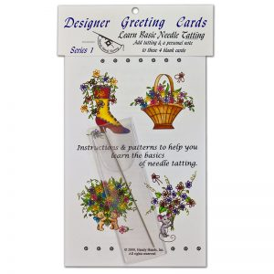 Designer Greeting Cards - TS01N - Series Set 1 With Needle