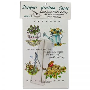 Designer Greeting Cards - TS03N - Series Set 3 With Needle