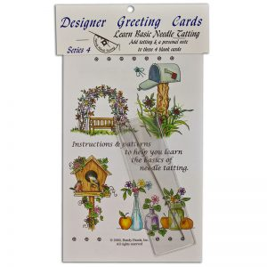 Designer Greeting Cards - TS04N - Series Set 4 With Needle