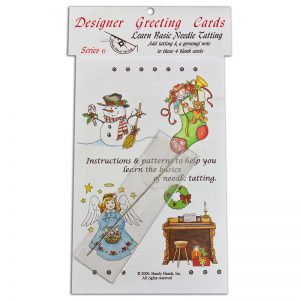 Designer Greeting Cards - TS06N - Series Set 6 With Needle