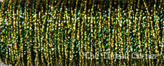 Kreinik Metallic 8 - 5011 - Elfin Green