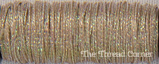 Kreinik Metallic 8 - 5750 - Coffee Toffee