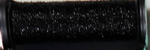 Kreinik Metallic 4 - 005 - Black