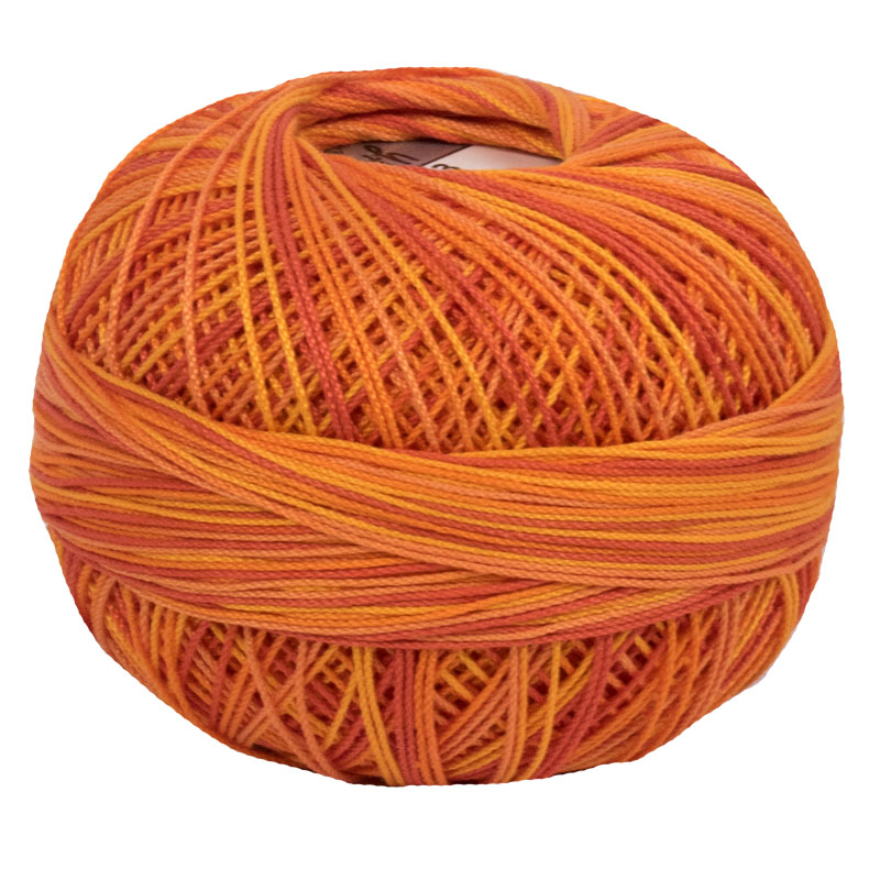 Lizbeth Thread 20 - (183) Orange Crush