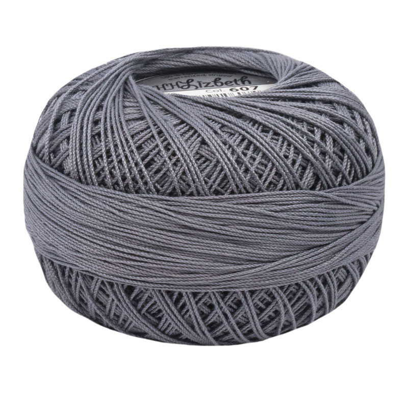 Lizbeth Thread 40 - (607) Charcoal Medium