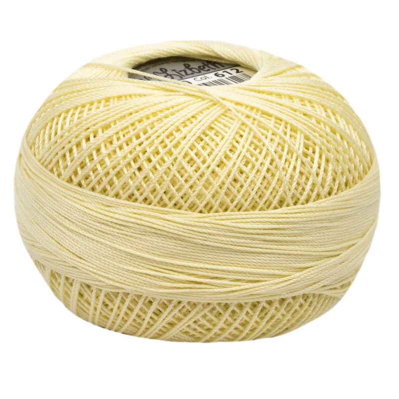Lizbeth Thread 10 - (612) Golden Yellow Lt.