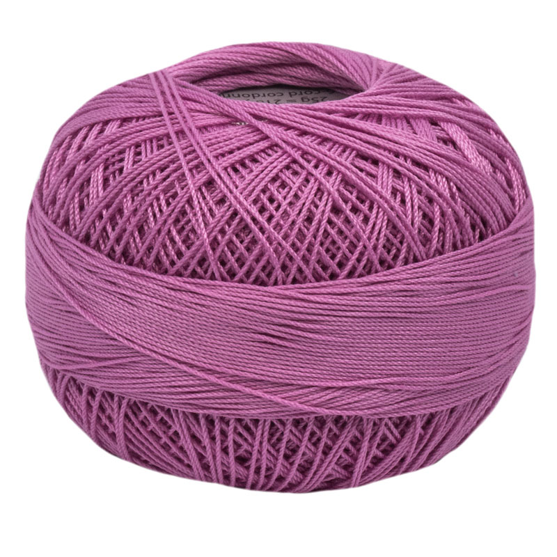 Lizbeth Thread 10 - (623) Raspberry Pink Lt.