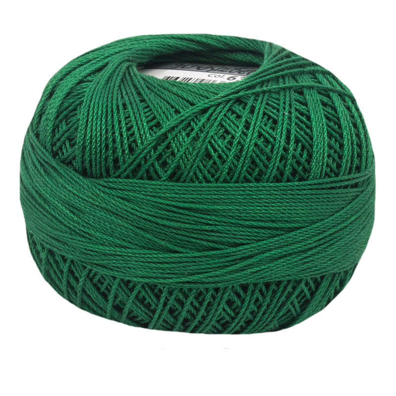 Lizbeth Thread 10 - (638) Christmas Green