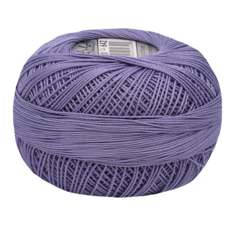 Lizbeth Thread 20 - (642) Lilac Med.