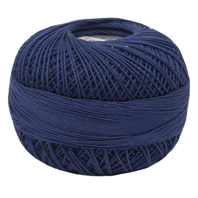 Lizbeth Thread 20 - (654) Navy Blue