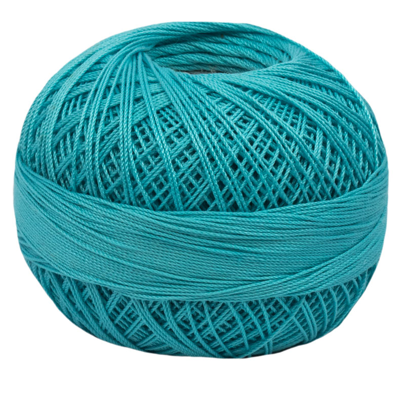 Lizbeth Thread 20 - (664) Ocean Teal Medium