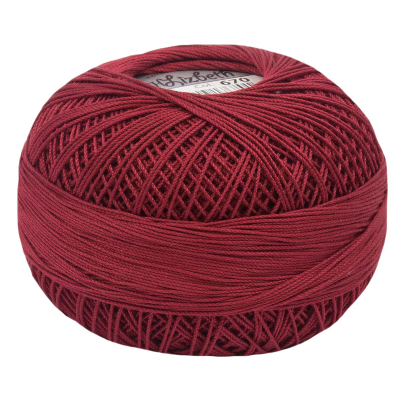 Lizbeth Thread 10 - (670) Victorian Red