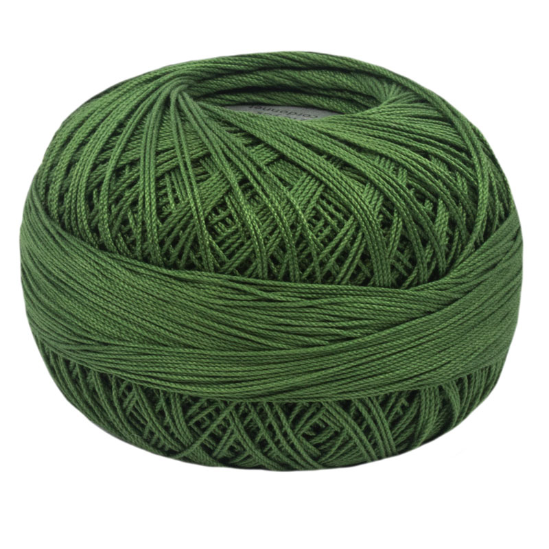 Lizbeth Thread 10 - (676) Dark Leaf Green