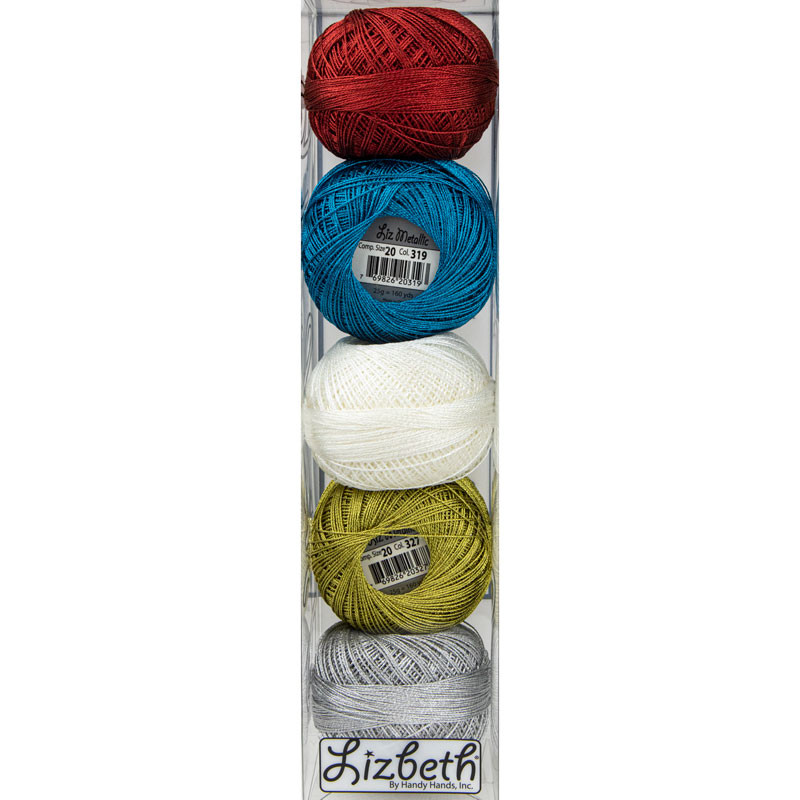 Lizbeth Specialty Pack - Sparkles Mix - Size 20