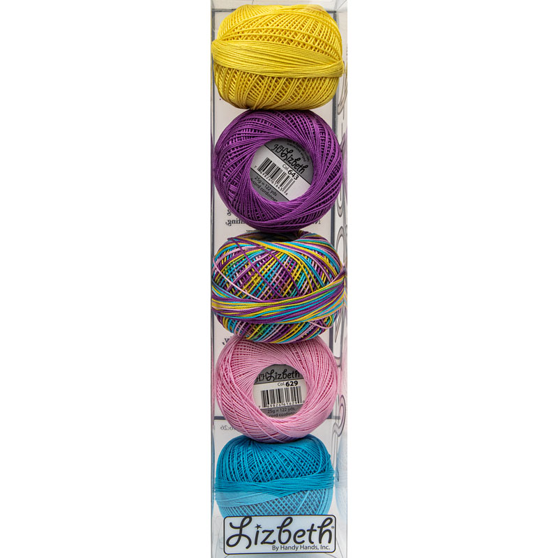 Lizbeth Specialty Pack - Carnival Mix - Size 20