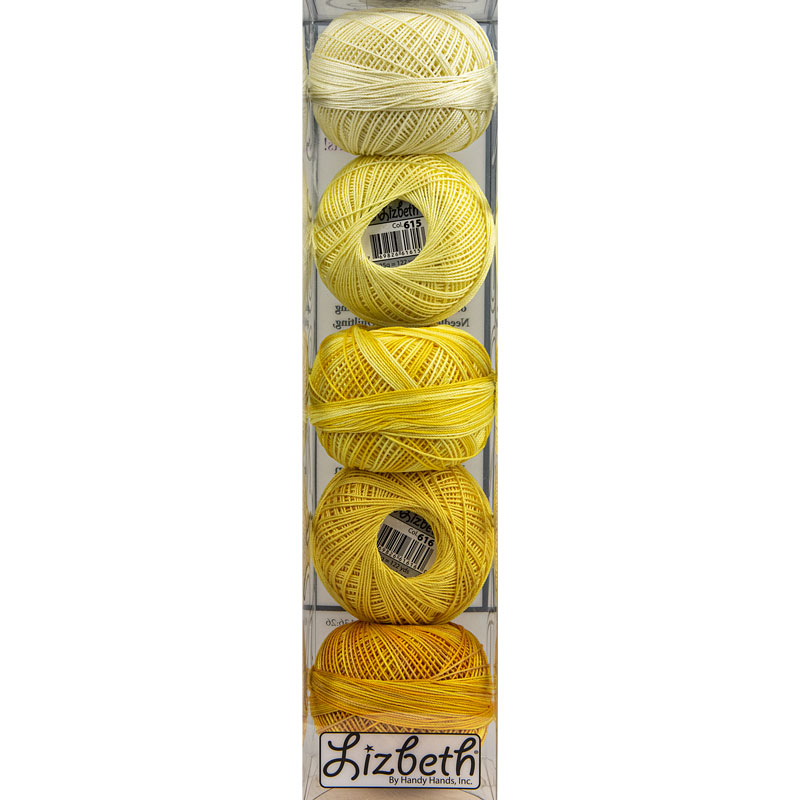 Lizbeth Specialty Pack - Sunny Mix - Size 40