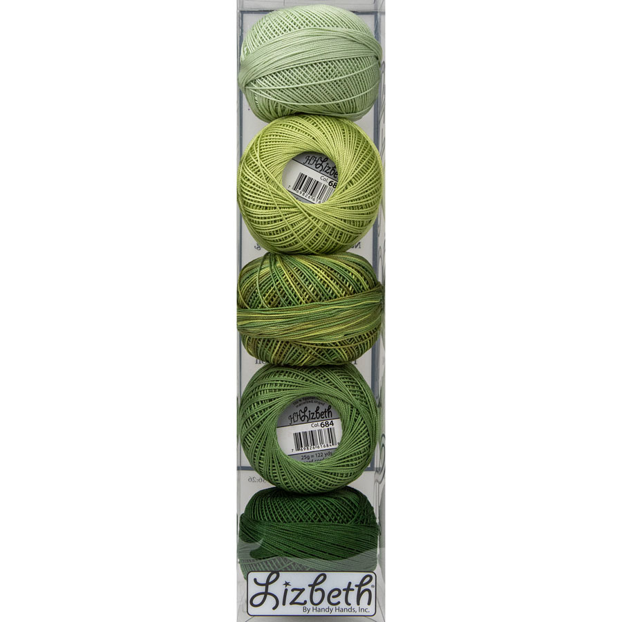 Lizbeth Specialty Pack - Grassy Meadow Mix - Size 10