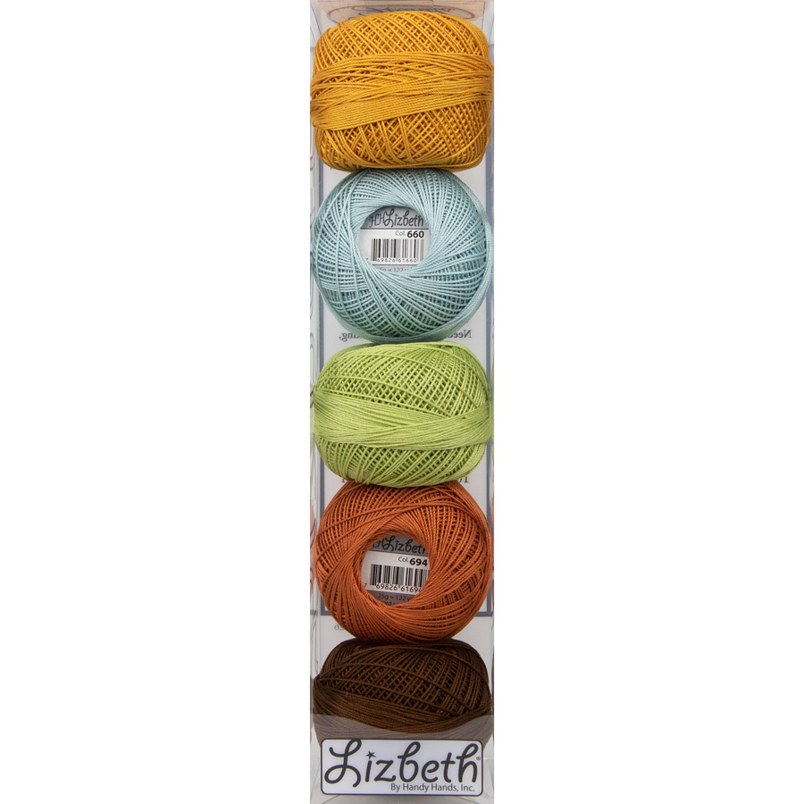 Lizbeth Specialty Pack - Fall Sunrise Mix - Size 10