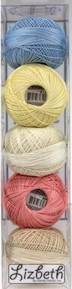 Lizbeth Specialty Pack - Macaroon Mix - Size 40