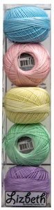 Lizbeth Specialty Pack - Soft Pastels Mix - Size 20