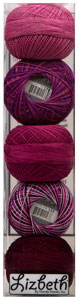 Lizbeth Specialty Pack - Berry Kiss Mix - Size 10