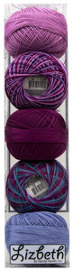 Lizbeth Specialty Pack - Very Berry Mix - Size 20