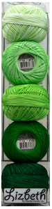 Lizbeth Specialty Pack - Shamrock Splash Mix - Size 40