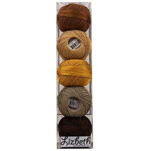 Lizbeth Specialty Pack - Peanut Butter Pieces Mix - Size 20