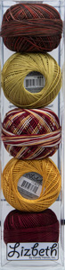 Lizbeth Specialty Pack - Rustic Fall Mix - Size 40